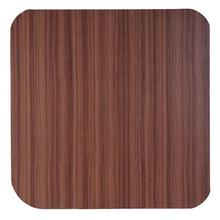 Tampo de Mesa MDF Quadrado Teca 90x90cm Home Wood