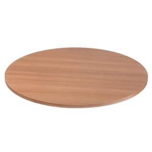 Tampo de Mesa MDF Redondo Noce 60x60cm Home Wood
