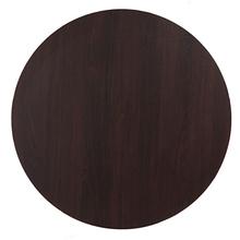 Tampo de Mesa MDF Redondo Tabaco 90x90cm Home Wood