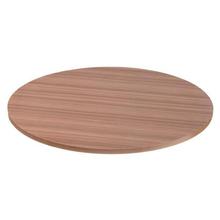 Tampo de Mesa MDF Redondo Teca 60x60cm Home Wood