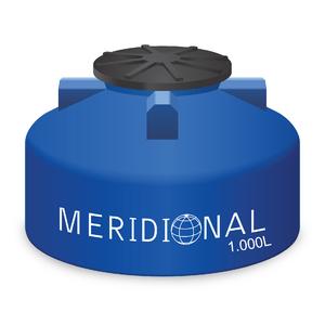Tanque de Polietileno 1000L Azul Meridional