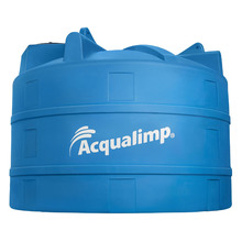 Tanque de Polietileno 16000L Azul 2,33m Acqualimp