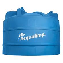 Tanque de Polietileno 5000L Azul 1,38m Acqualimp