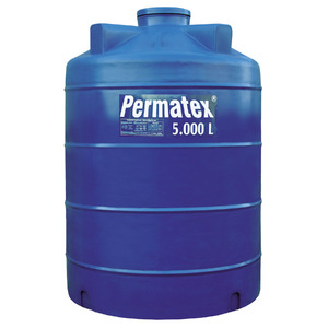 Tanque de Polietileno 5000L Azul Permatex