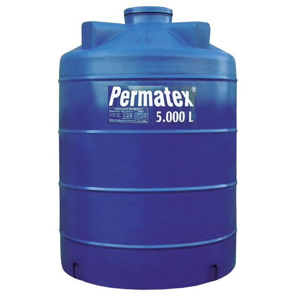 Tanque de polietileno azul permatex leroy merlin for Tanque de 5000 litros