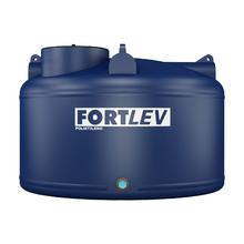 Tanque de Polietileno 5000L Azul 1,51m Fortlev
