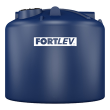 Tanque Polietileno Fortplus 20.000L Tampa Rosca Antibacteriana Azul Fortlev