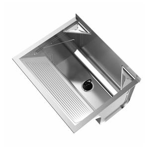 Tanque Simples Inox 48L 50x60x29cm Ghel Plus
