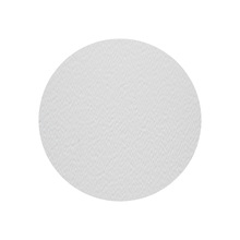Tapa Furo Adesivo PVC 12mm Branco Neve Cartela com 50 unidades