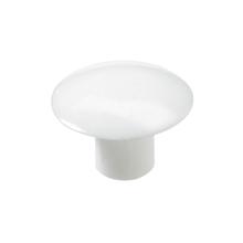 Tapa Parafuso Encaixe 6mm Plástico Branco 20 unidades