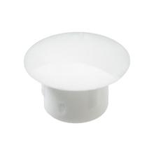 Tapa Parafuso Encaixe 8mm Plástico Branco 20 unidades