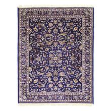 Tapete Belga Liege Azul e Multicolorido 1,00x1,40m Inspire