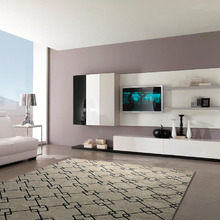 Tapete Brooklyn Preto e Branco 2,00x3,00m