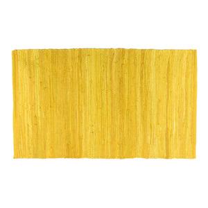 Tapete Chindi Amarelo 0,50x0,80m