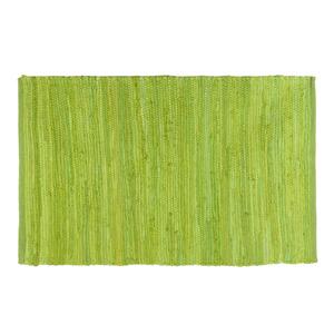 Tapete Chindi Verde Limão 0,50x0,80m