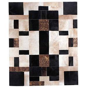 Tapete Couro  Florença Marfim W. A. Valente 1,80x1,40m