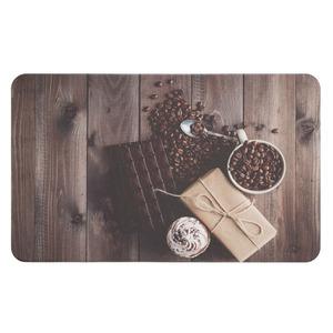 Tapete Cozinha e Área de Serviço Comfy Chocolate 46x76cm