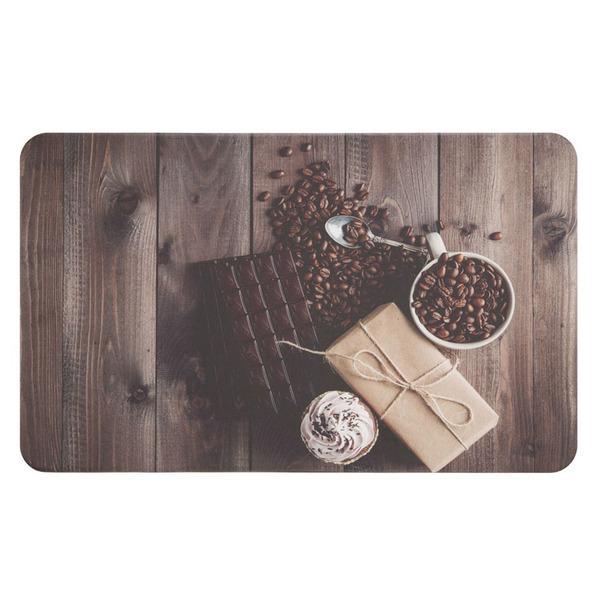 Tapete Cozinha E área De Serviço Comfy Chocolate 46x76cm Leroy Merlin