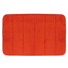 Tapete de Banheiro 1 peça 60x40cm Vermelho
