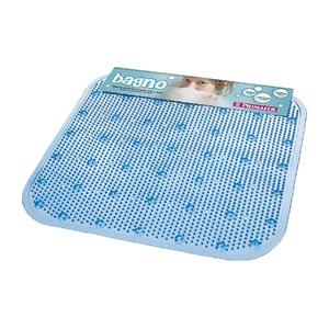 Tapete de Banheiro 1 peça Quadrado PVC Azul Primafer