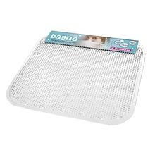 Tapete de Banheiro 1 peça Quadrado PVC Incolor Primafer
