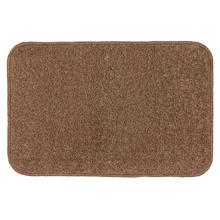 Tapete de Banheiro 1 Retangular Algodão Marrom Braz Textil