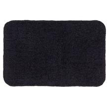 Tapete de Banheiro 1 Retangular Algodão Preto Braz Textil
