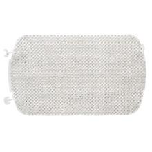 Tapete de Banheiro 1 peça Retangular Plástico Branco Astra