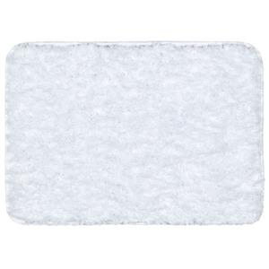 Tapete de Banheiro 1 Retangular Plástico Branco Braz Textil