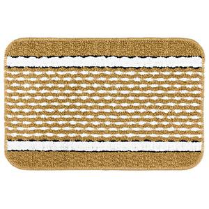 Tapete de Banheiro 1 Retangular Plástico Caramelo Braz Textil
