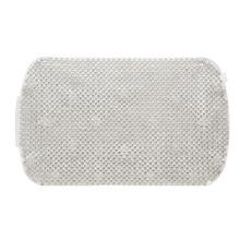 Tapete de Banheiro 1 peça Retangular Plástico Cinza Astra