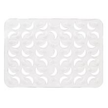 Tapete de Banheiro 1 peça Retangular Plástico Incolor Arthi