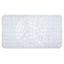 Tapete de Banheiro 1 peça Retangular Plástico Incolor Primafer