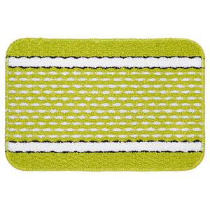 Tapete de Banheiro 1 Retangular Plástico Verde Braz Textil