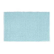Tapete de Banheiro Bubble Tecido Azul Claro 50x80cm Sensea