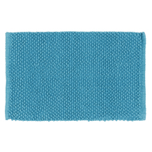 Tapete de Banheiro Bubble Tecido Azul 40x60cm Sensea