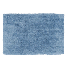 Tapete de Banheiro Milano Tecido Azul 40x60cm Sensea