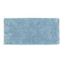 Tapete de Banheiro Royal Tecido Azul 60x120cm Sensea