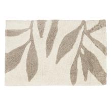 Tapete de Banheiro Folha Tecido Estampado 50x80cm Sensea