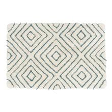 Tapete de Banheiro Mosaico Tecido Estampado 50x80cm Sensea