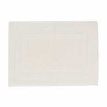 Tapete de Banheiro Lady Tecido Marfim 50x70cm Sensea