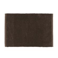 Tapete de Banheiro Early Tecido Marrom 40x60cm Sensea