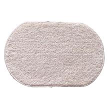 Tapete de Banheiro Tecido 60x40cm Branco 1 peça Safira Lucatex