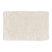 Tapete de Banheiro Folk Suite Tecido Marfim 40x60cm Sensea