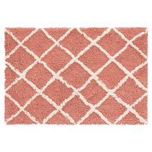 Tapete de Banheiro Tecido Retangular Agra Desing Tijolo 40x60cm Jolitex