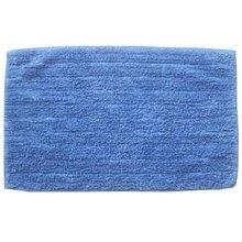 Tapete de Banheiro Tecido Retangular Azul 1 peça