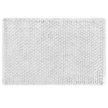 Tapete de Banheiro Tecido Retangular Branco 1 peça