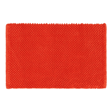 Tapete de Banheiro Bubble Tecido Vermelho 40x60cm Sensea