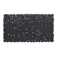 Tapete de Box Antiderrapante Stone Plástico Preto 40x70cm Sensea
