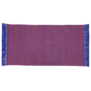 Tapete Ethnic Azul e Laranja 50x90cm